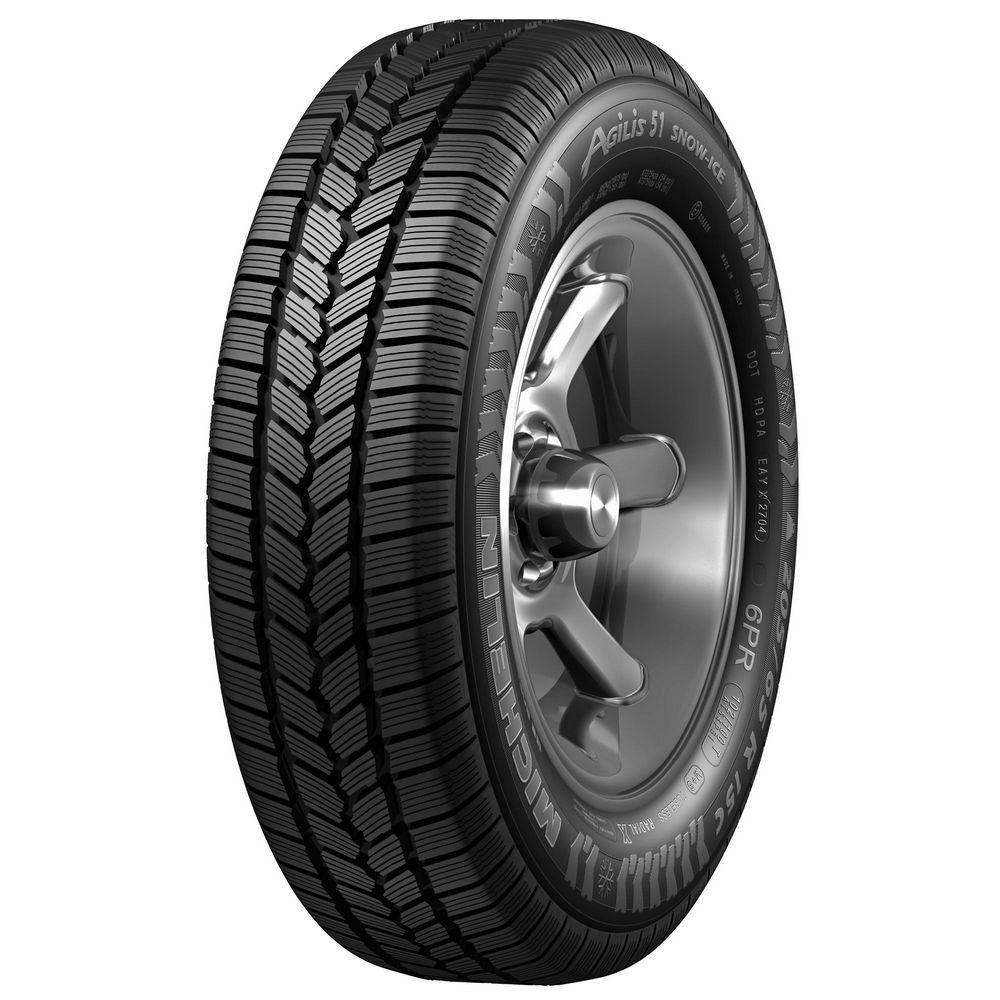 195/65 R16C [100/99] T AGILIS 51 ICE - MICHELIN